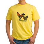 Ameraucana Fowl Yellow T-Shirt