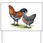 Ameraucana Fowl Yard Sign