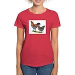 Ameraucana Fowl Women's Dark T-Shirt