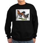 Ameraucana Fowl Sweatshirt (dark)