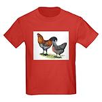 Ameraucana Fowl Kids Dark T-Shirt