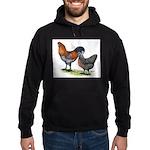 Ameraucana Fowl Hoodie (dark)