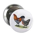 """Ameraucana Fowl 2.25"""" Button (10 pack)"""