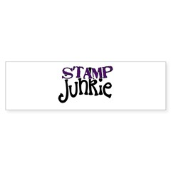 Stamp Junkie Bumper Sticker (10 pk)
