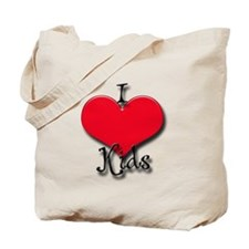 Love Kids Tote Bag