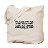 Quote Darwin - The Love Tote Bag