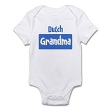 Dutch grandma Infant Bodysuit