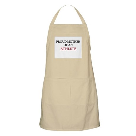 Proud Mother Of An ATHLETE BBQ Apron