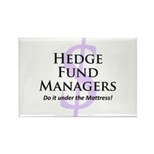 The Hedge Hog's Rectangle Magnet