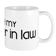 I Love My Daughter In Law Mug