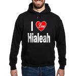 I Love Hialeah Florida (Front) Hoodie (dark)