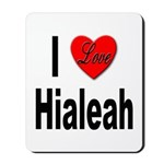 I Love Hialeah Florida Mousepad