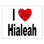 I Love Hialeah Florida Small Poster