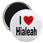 I Love Hialeah Florida Magnet