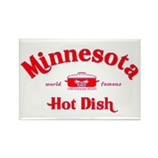 Minnesota Hot Dish Rectangle Magnet (10 pack)