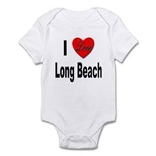 I Love Long Beach Infant Bodysuit