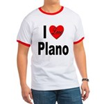 I Love Plano Texas Ringer T