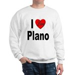 I Love Plano Texas (Front) Sweatshirt
