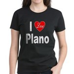 I Love Plano Texas (Front) Women's Dark T-Shirt