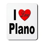I Love Plano Texas Mousepad