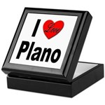 I Love Plano Texas Keepsake Box