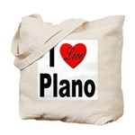 I Love Plano Texas Tote Bag