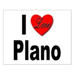 I Love Plano Texas Small Poster
