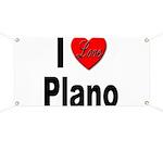 I Love Plano Texas Banner