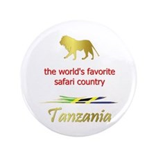 "Favorite Safari Country 3.5"" Button (100 pack"
