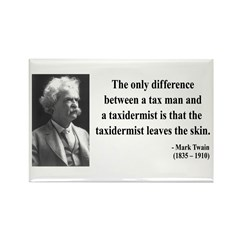 Mark Twain 38 Rectangle Magnet (100 pack)