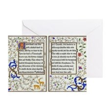 Book of Hours Greeting Cards