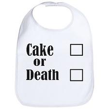 Cute Cake death Bib