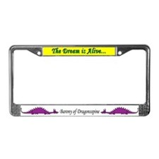 Dragonnspine Populace License Plate Frame