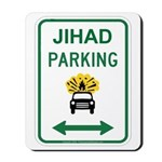 Jihad Parking Mousepad