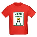 Jihad Parking Kids Dark T-Shirt