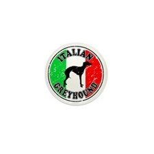 Italian Greyhound Mini Button