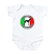 Italian Greyhound Infant Bodysuit