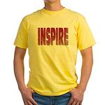 Inspire Yellow T-Shirt