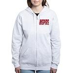 Inspire Women's Zip Hoodie