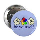 "Be Yourself 2.25"" Button"