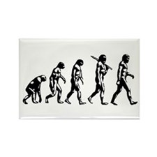 Evolution of Man Rectangle Magnet (10 pack)