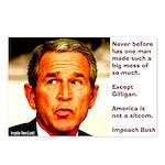 Eight Bush is Gilligan Postcards