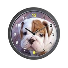Penny's Paw Wall Clock
