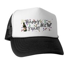 Happy New Year 2009 Trucker Hat