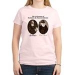 Wallace & Charles Darwin Women's Light T-Shirt