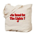 Afraid of the Dark? Tote Bag