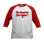Afraid of the Dark? Kids Baseball Jersey