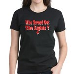 Afraid of the Dark? Women's Dark T-Shirt