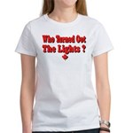 Afraid of the Dark? Women's T-Shirt