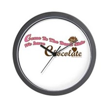 Chocolate Lover Wall Clock